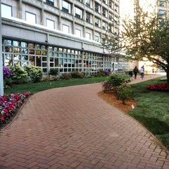 Photo taken at West Campus - Boston University by Elaine P. on 5/7/2014