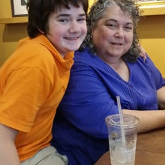Photo taken at Panera Bread by Peggy S. on 6/15/2014