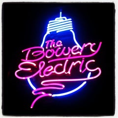 Photo taken at The Bowery Electric by ModBetty R. on 10/22/2012