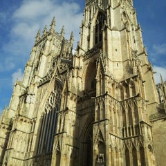 Photo taken at York Minster by Ranno K. on 2/9/2013