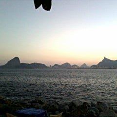 Photo taken at Baía de Guanabara by Rômulo S. on 7/18/2013