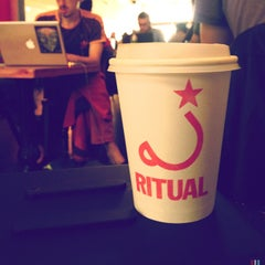 Photo taken at Ritual Coffee Roasters by Johanna F. on 6/22/2013