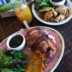 Photo taken at Sol Food Puerto Rican Cuisine by Karen S. on 6/19/2013