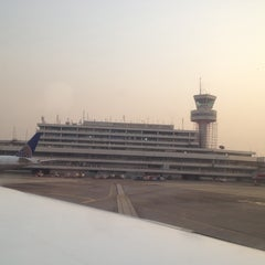 Photo taken at Murtala Muhammed International Airport (LOS) by Roy W. on 1/4/2013