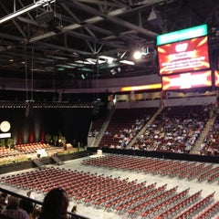 Photo taken at Agganis Arena by Felicia A. on 5/20/2012