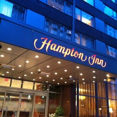Photo taken at Hampton Inn Manhattan Times Square North by Min A. on 7/23/2012