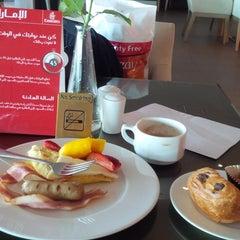 Photo taken at Emirates Lounge by Gary B. on 2/16/2015