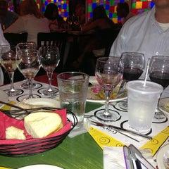 Photo taken at (Vin'tij) Wine Boutique & Bistro by Christina Ursin S. on 8/4/2013
