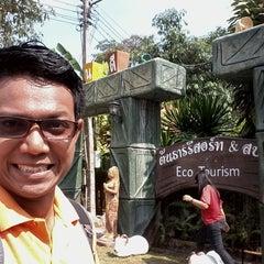 Photo taken at Ton Tarn Resort And Spa by PMatu on 4/9/2014