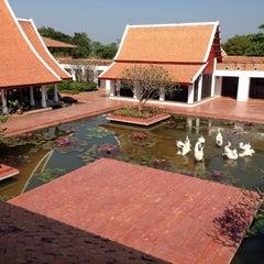 Photo taken at Sukhothai Heritage Resort by Krit P. on 12/11/2014