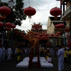 Photo taken at Sekolah Tri Dharma T.I.TD Kwan Seng Ta Tie (Kwan Kong) by Novie M. on 7/31/2013