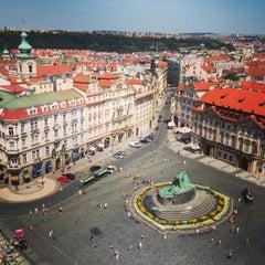 Photo taken at Staroměstské náměstí | Old Town Square by Sara R. on 7/27/2013