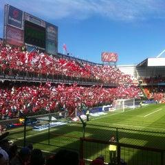 Photo taken at Estadio Nemesio Diez by Poncho F. on 11/25/2012