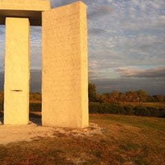 Photo taken at Georgia Guidestones by Laura P. on 10/29/2014