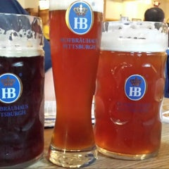 Photo taken at Hofbräuhaus Pittsburgh by Ashley F. on 7/22/2013