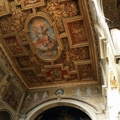 Photo taken at Basilica S.Cosma e Damiano by Cintia on 4/1/2015