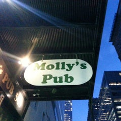 Photo taken at Molly's Pub by Jimmy W. on 8/26/2014