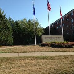 Photo taken at University of Wisconsin-River Falls by Ricki G. on 9/1/2013