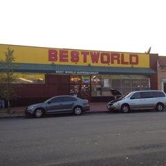 Photo taken at BESTWORLD Supermercado by Eunha 네. on 9/10/2013