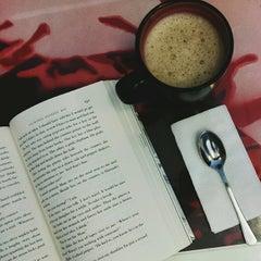 Photo taken at Book Latte by Paul Nino M. on 3/31/2014