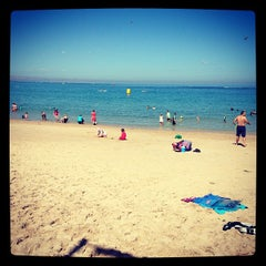 Photo taken at Port Noarlunga Beach by Sean S. on 3/11/2013