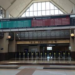 Photo taken at NJT - Frank R. Lautenberg Secaucus Junction Station by Sandro C. on 6/25/2013