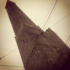 Photo taken at Torre Degli Asinelli by Gianluca P. on 12/26/2012
