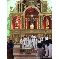 Photo taken at San Guillermo Parish Church by Angela L. on 11/3/2013