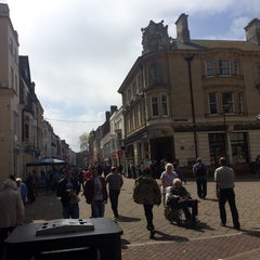 Photo taken at Weymouth Town Centre by Charlotte A. on 4/24/2014