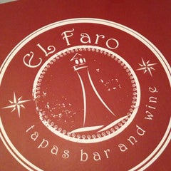 Photo taken at El Faro Tapas Bar And Wine by Yong A. on 9/3/2013