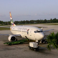 Photo taken at Owen Roberts International Airport (GCM) by Ranel G. on 7/11/2013