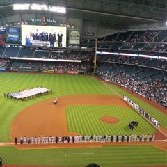 Photo taken at Minute Maid Park by David R. on 7/4/2013