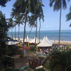 Photo taken at Mombasa Beach Hotel by Maurice N. on 7/25/2015