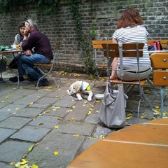 Photo taken at Café Podnebi by Mihai C. on 10/6/2012