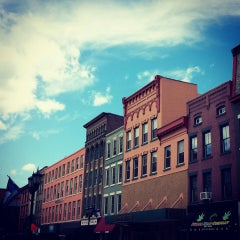Photo taken at Downtown Ithaca by Sonia R. on 8/11/2013
