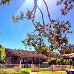 Photo taken at Brady Bunch House by Robin R. on 10/2/2014