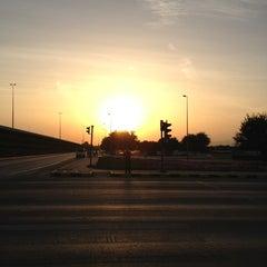 Photo taken at al khoud round about by ferdinand l. on 1/31/2013