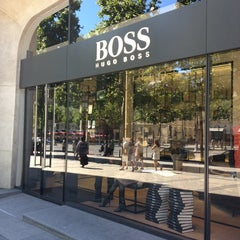 Photo taken at BOSS Store by Angie on 8/1/2013