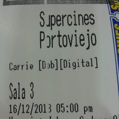 Photo taken at Supercines by Enrique M. on 12/16/2013