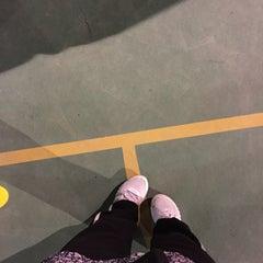 Photo taken at K9 Basketball Court by Yaya Z. on 12/22/2014