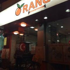 Photo taken at Orange Zone Cafeteria by Saniye Ç. on 3/6/2014