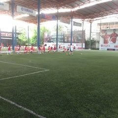 Photo taken at Arsenal Soccer Schools by shu on 8/23/2014