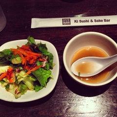 Photo taken at Ki Sushi & Sake Bar by Heather G. on 5/29/2013