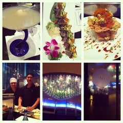 Photo taken at Blu Sushi by Haley on 5/12/2013