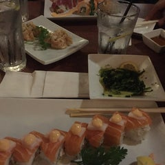 Photo taken at Sushi Mura by Olivier F. on 8/9/2015