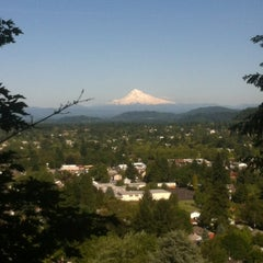 Photo taken at Mt. Tabor Park by Chris D. on 6/4/2013