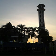 Photo taken at Alun-Alun Karawang by Atu A. on 8/8/2014