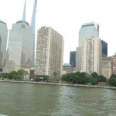 Photo taken at Hudson River Promenade by Tuba D. on 7/28/2013