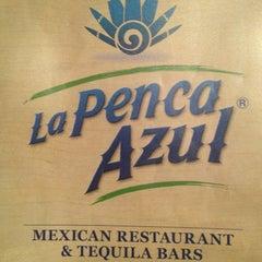 Photo taken at La Penca Azul by Sergio G. on 7/18/2013