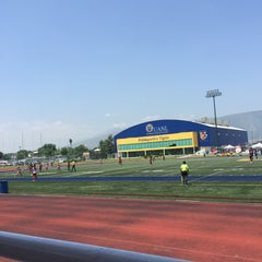 Photo taken at Polideportivo Tigres UANL by Cathy H. on 5/16/2015